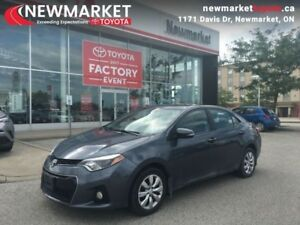 2014 Toyota Corolla S  - local - trade-in - Certified - $52.09 /
