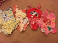 Disney girls swimwear