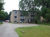 clean & secure building with 1 & 2 bedroom apts.