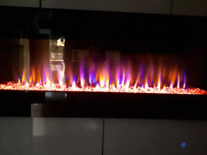 Crystal Fireplace 50''  Built-IN*LIMITED TIME SPECIAL