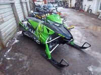 2016 ARCTIC CAT 4000 RR DEMO SLED ON SALE!!