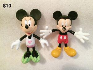 Personnages et figurines de Disney
