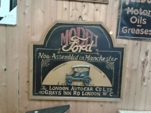 Ford 3D wood sign