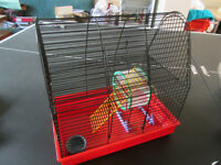 HAMSTER CAGE 2-level with accessories