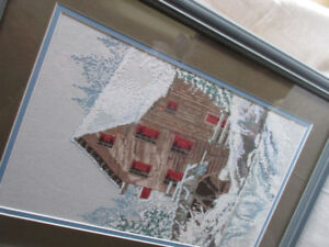 cross stitched Winter sceenery - extremely beautiful