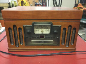 Crosley am/fm CD record tape player - works perfect