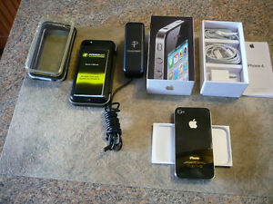 For sale   iphone 4 + accessories