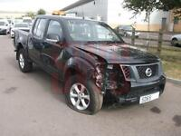 2015 Nissan Navara 2.5dCi Visia DAMAGED REPAIRABLE SALVAGE