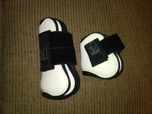 For Sale: White Shedrow Jump Boot Set