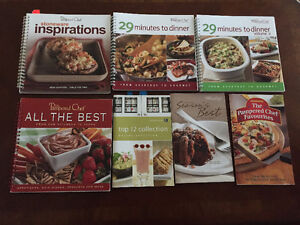 Pampered Chef & Cook Books