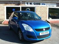 2011 Suzuki Swift 1.2 SZ3 3d **NEW MODEL / £30 Tax**