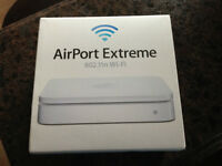 APPLE AIRPORT EXTREME MAC PLUS PC. WITH BOX.