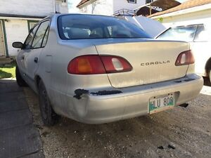 2000 Toyota Corolla, parts car