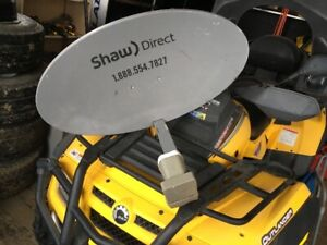 Antenne Shaw Direct fonctionnel.