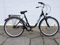 DUTCH COMFORT BIKE TOWN BICYCLE SUSPENSION 3 SPEED