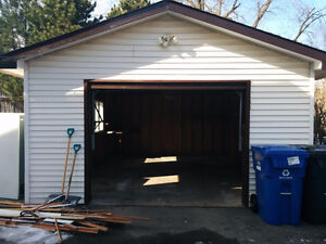 Moving? Need a storage? Detached Garage is Available