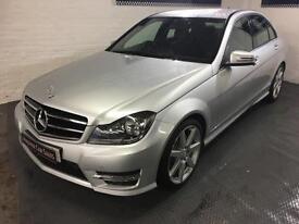 Mercedes-Benz C220 AMG premium sport,LOW MILEAGE media sat nav