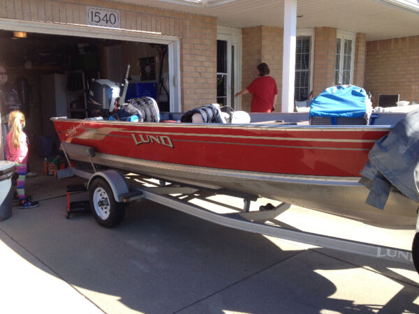 Used 2003 Lund Boat Co 16'6 rebel