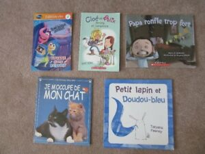 Soft Cover Childrens French Books