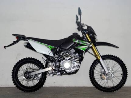 DDB 250cc 'DEFENDER' ROAD/TRAIL BIKE - NEW  $2190
