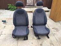 Mini (bmw mini) front seats