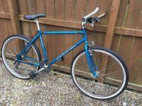 Retro 1990s mountain bike