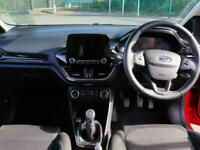2018 Ford Fiesta Ford Fiesta 1.1 Zetec 3dr Hatchback Petrol Manual