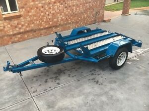 Motorcycle / Motorbike Quad Bike ATV Camper Trailer for HIRE Greenvale Hume Area Preview