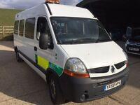 Renault master wheelchair patient transport ambluance 58 Reg direct