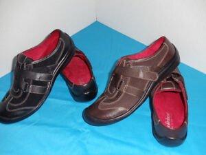 BRAND NEW LEATHER LADIES SHOES - 4 PAIRS -  SIZE 8  - $15