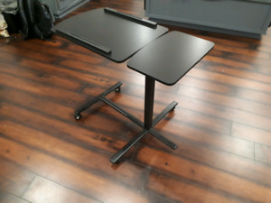 Mobile (bedside) laptop table