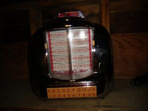 RADIO JUKEBOX AM-FM CROSLEY SELECT-O-MATIC 100 EDITION