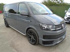 Volkswagen Transporter lwb t6 factory kombi 140 dsg automatic 2016 pure grey