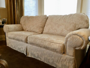 Bench-made Queen, sofa bed