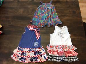 Lot de vêtements pour fille 3 et 4 ans