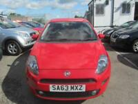 2013 Fiat Punto Hatch 5Dr 1.2 8V 69 EU5 GBT Petrol red Manual