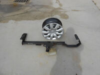Toyota Camry rims and trailer hitch
