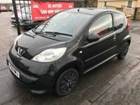 2008 PEUGEOT 107, 60000 MILES, 1 YEAR MOT, SERVICE HISTORY NOT CLIO CORSA FIESTA POLO