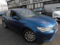 2014 Seat Leon 1.6TDI DSG SE - Blue - Automatic - Platinum Warranty!