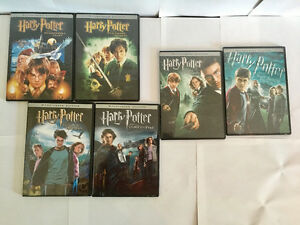 Harry Potter. Years 1-6