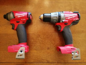 M18 Fuel Drill/Driver and M18 Fuel Impact Driver (Bare Tools)