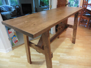 Table, Bar Type 6ft (Free Delivery)