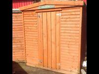 6x6 garden shed