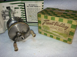 Old reels and lures