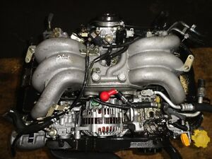 JDM SUBARU LEGACY EZ30 DOHC V6 ENGINE LONG BLOCK, 2001-2002