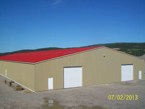 (( LEASE Warehouse - 26,000 Sq.ft. Holyrood PLUS Yard Space ))