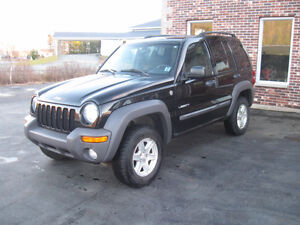 JEEP LIBERTY 4X4. UPDATED SAFETY.Trades Considered.