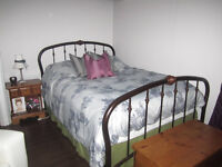 queen frame excellent quality box spring available/mattress free