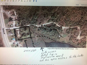 Great residential lot for sale - waterfront