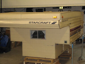 Starcraft Roadstar 8ft slide in pop up truck camper.